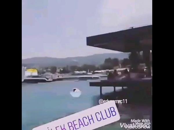 Erkan ve Hazalın tatil videoları yayınlandı