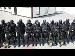 Плановое построение УВО ВНГ России по Чеченской Республике