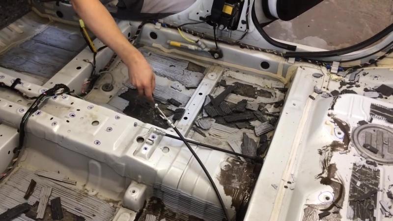 Качество штатной виброизоляции на Mitsubishi ASX