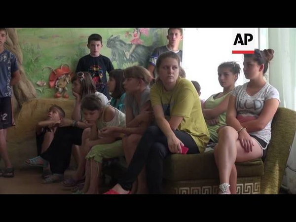 Orphanage director accuses rebels of trying to send orphans to Russia against their will
