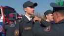 Профильный класс МЧС СШ №14 Пинска посвятили в кадеты