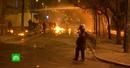 Мирное шествие студентов в Афинах закончилось стычками с полицией