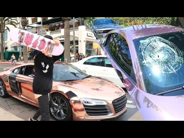 INSANE PEOPLE ANGRY AT LOUD CARS