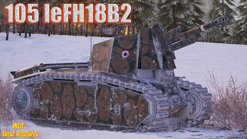 105 leFH18B2 : АртаВод на Левше вышел За Добычей * Заполярье