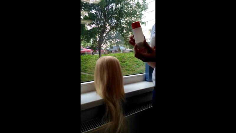 пудра для волос)