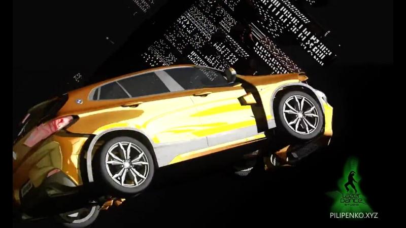 Мэппинг для шоу ABTODOM-BMW