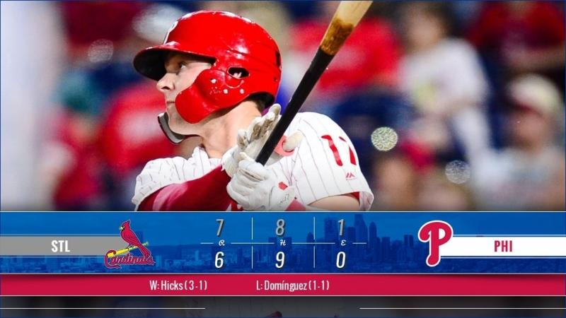 Game 71: STL_7_PHI_6 © MLB.com