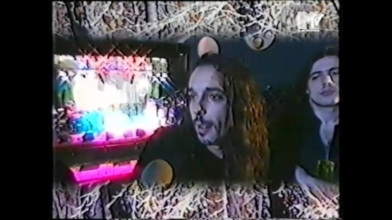 Interview with Moonspell Oslo 24 11 1996 TV Opium Live Headbangers Ball