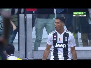 Cristiano Ronaldo Vs Sassuolo (16/09/2018) HD
