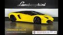 2016 Lamborghini Aventador LP 700 4 Pirelli Giallo Spica Nero Nemesis LT1182