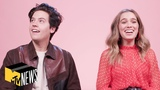 Cole Sprouse &amp Haley Lu Richardson Reveal Their 1st Impressions Of Each Other MTV News