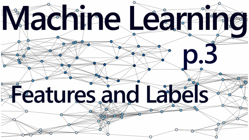 Regression Features and Labels Practical Machine Learning Tutorial with Python p 3