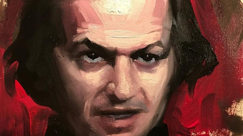 Portrait Painting Jack Torrance (Jack Nicholson in The Shining)