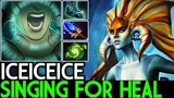 Iceiceice Naga Siren Singing For Heal 200 IQ Build 7.19 Dota 2