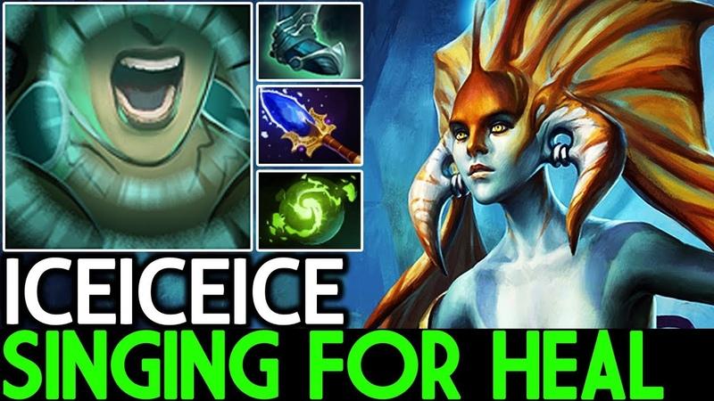 Iceiceice [Naga Siren] Singing For Heal 200 IQ Build 7.19 Dota 2