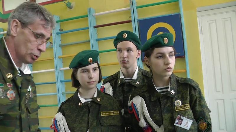 Подготовка к Зарнице Школа №26 г Орла Строевой смотр
