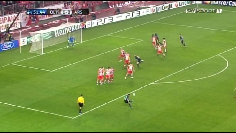 09-12-2009 Champions League Gr. H - Olympiacos-Arsenal 1-0