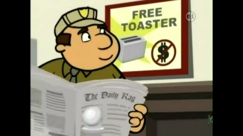 WordGirl Tobey or Consequences High Fat Robbery
