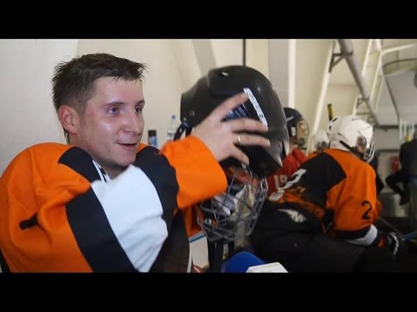 Заводская сборная вышла на лед в рамках товарищеской встречи со спортсменами из Краснотурьинска