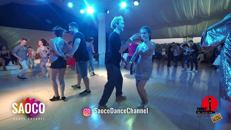 Frederic Taieb and and Darya Pynchenkova Salsa Dancing in Malibu at The Third Front, 05.08.2018 (SC)