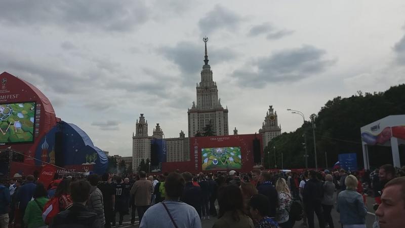 FIFA Fan Fest Москва / Матч-открытие / Feel real Love)