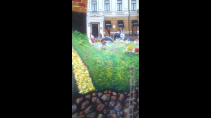 красиво в Киеве в гостях у Витюши софиевская площадь