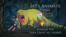 Let's Animate Ep. 14 - Krita: Lara Croft vs. Lizard 👄️🏹