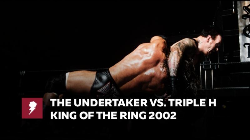 [My1] Король Ринга 2002 - Трипл Эйч против Гробовщика