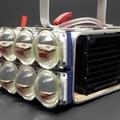 World of Engineering on Instagram Water Cooled 72,000 Lumen LED flashlight by @sammsheperd #worldofengineering #engineering #science #technology...