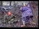 Чечня Моджахеды берут в плен русского солдата