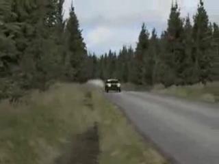 Lada 2107 - корыто НО КАКОЕ - 4Х4 ралли тюнинг!!! Richard Burns Rally. ТВ камера.