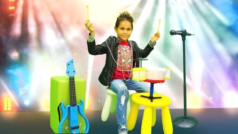 Fındık ailesi çocuk dizisi. Mikail şarkıcı oluyor