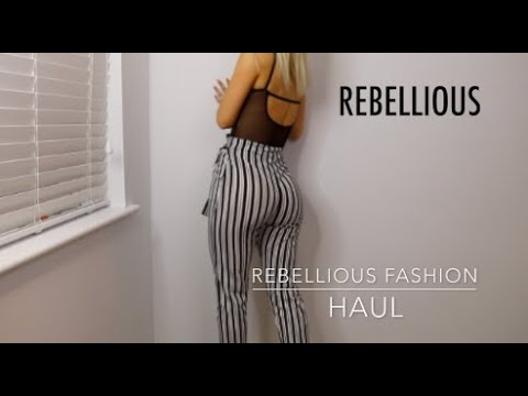 Rebellious Fashion Haul MY FIRST EVER CLOTHING HAUL IS REBELLIOUS FASHION WORTH IT 2019