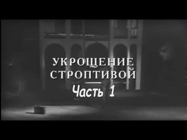 Укрощение строптивой. Экранизация комедии У. Шекспира. Часть 1 (1973)