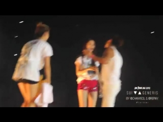 [HD Fancam] 120922 SMTown Jakarta - Ending (Jonghyun & Krystal)