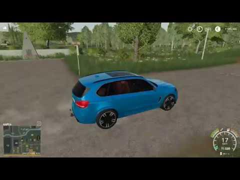 Приехал на BMW X5M покорять деревню купил дом участок технику Farming Simulator 2019