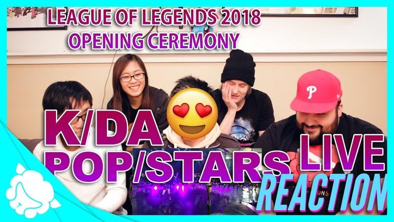 [Reaction] K/DA - POP/STARS @ Reaction by Alpacalypse Productions