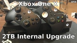 Xbox One X Scorpio 2TB Internal Hard Drive Upgrade Using Windows