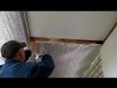 Подшивка чернового потолка по деревянным балкам перекрытия. Строю дом ч.8.