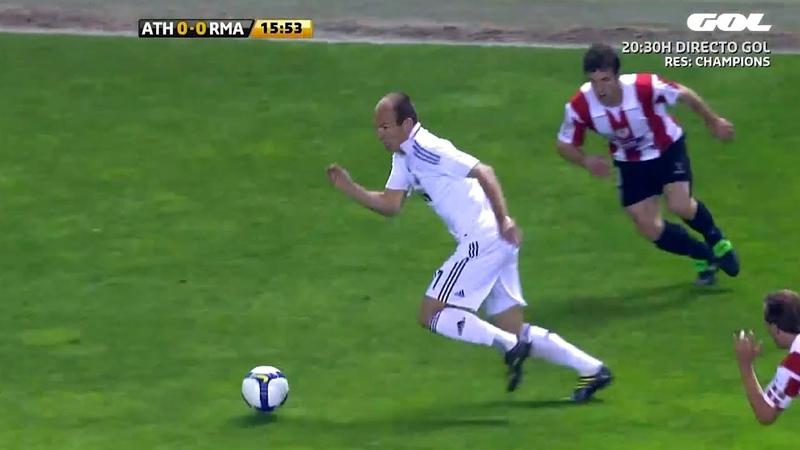 Arjen Robben ● Mesmerizing Dribbling Skills - Real Madrid