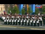 Выступление барабанщиков. Парад победы. Москва 2018г.