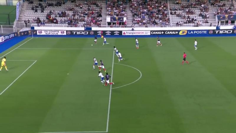 AJ Auxerre - Châteauroux ( 2-1 ) (2ème tour) - Résumé - (AJA - LBC) _ 2018-19