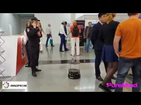 PureMind autonomous robot intelligence software (Innoprom`18)