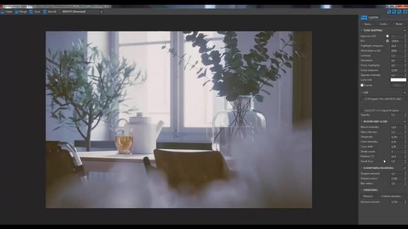 Santiago Sanchez коррекция рендера в Corona Frame Buffer