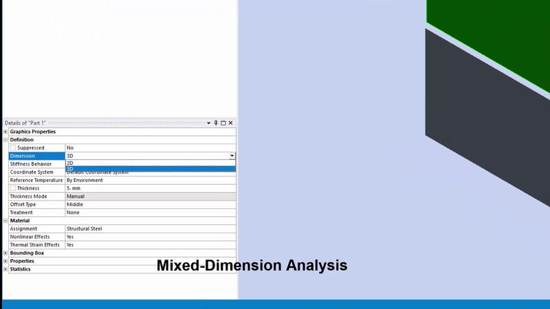 ANSYS Mechanical: What's new in 2019 R2 (Part 1 of 3)