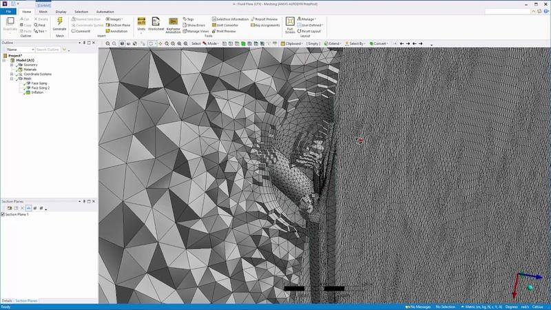 ANSYS CFX Nozzle Design Optimization - Part I