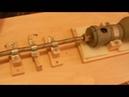 Самодельный малошумный станок из дрели для мини циркулярной пилы
