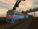 Тепловоз 2ТЭ116-1741 в Trainz Simulator 2010