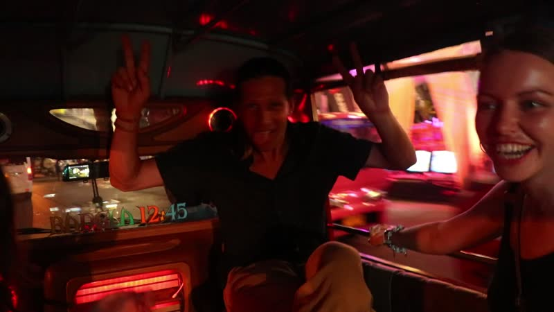 ТУК ТУК Такси. Пхукет Тайланд.
