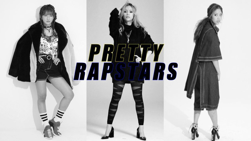 [InstyleKoreaTV] Pretty Rapstars (Exy, Heize, Yuk Jidam)